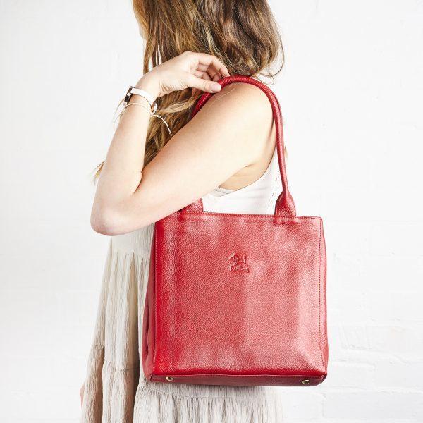 RedDog Design Handväska i äkta läder.